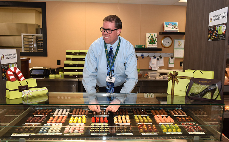 Norman Love Confections Making Sweet Splash At Bassett S The Beacon