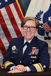 Rear Admiral Joanna Nunan