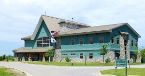 Visitors Center at the Ottawa National Wildlife Refuge