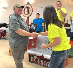 Ottawa County Ag Society honors Rich Petersen Jr. for supporting fair
