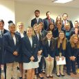 PCHS DECA compets in district competition