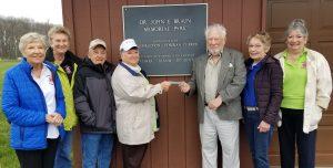 Catawba Island Garden Club, John Braun Park a blossoming partnership