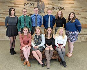 Port Clinton announces Top Ten students